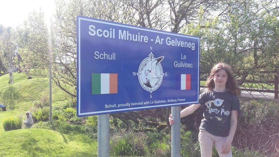 Arrivée des Irlandais dans le cadre du Jumelage avec la ville de SCHULL (comté deCork)