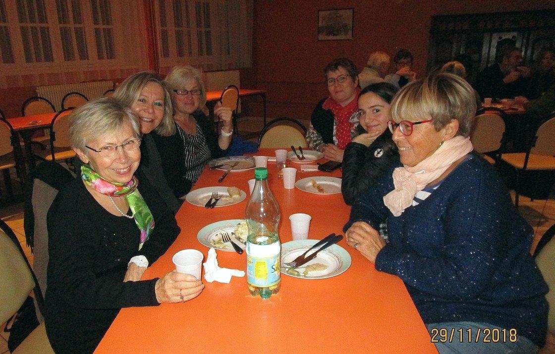 Le dernier «English Speaking Dinner» de 2018, à Kergoz(Guilvinec)