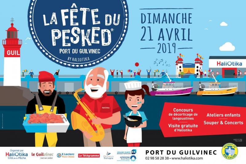 La Fête du Pesked, le 21 avril, auGuilvinec