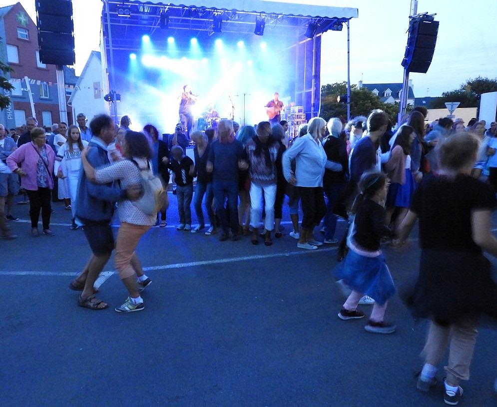 Retour sur la soirée celtique au Guilvinec – 2 août2019